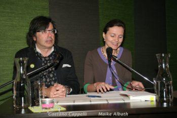 Gaetano Cappelli und Maike Albath