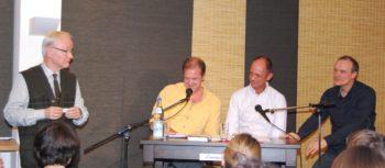 Damon Galgut und Edgar Selge