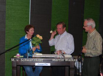Margarete von Schwarzkopf und Martin Walker