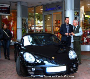Christian Eisert und Porsche