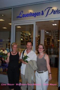 Gina Mayer, Wolfram Fleischhauer und Ruth Meyer