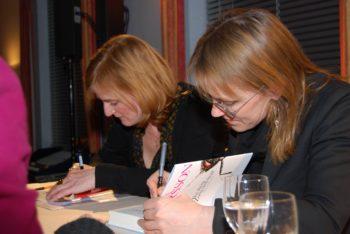 Nina Petri und Asa Larsson