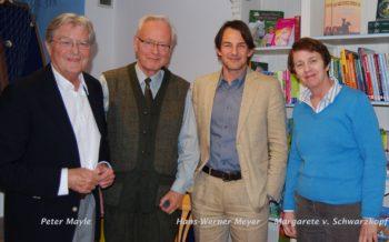 Peter Mayle, Hans-Werner Meyer und Margarete von Schwarzkopf