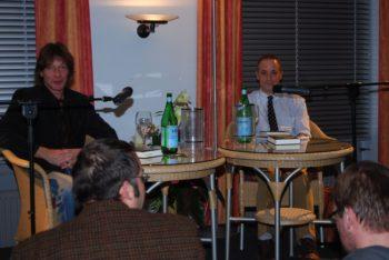 David Sedaris(r.) und Gerd Köster