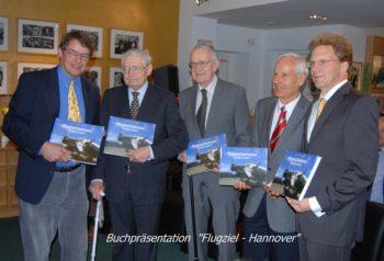 """Buchpräsentation """"Flugziel Hannover"""""""