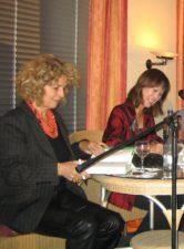 Michaela May und Tess Gerritsen
