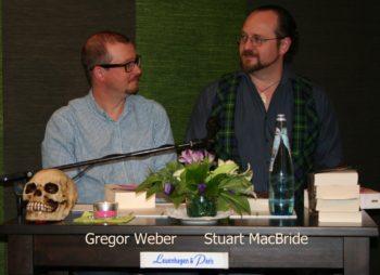 Gregor Weber und Stuart MacBride