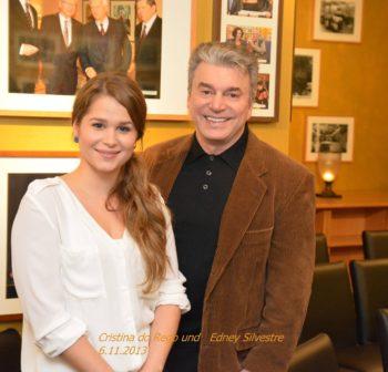 Cristina do Rego und Edney Silvestre