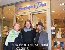 Nina Petri, Erik Axl Sund