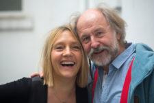 Bettina Göschl und Klaus-Peter Wolf