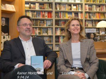Rainer Moritz und Leslie Molton